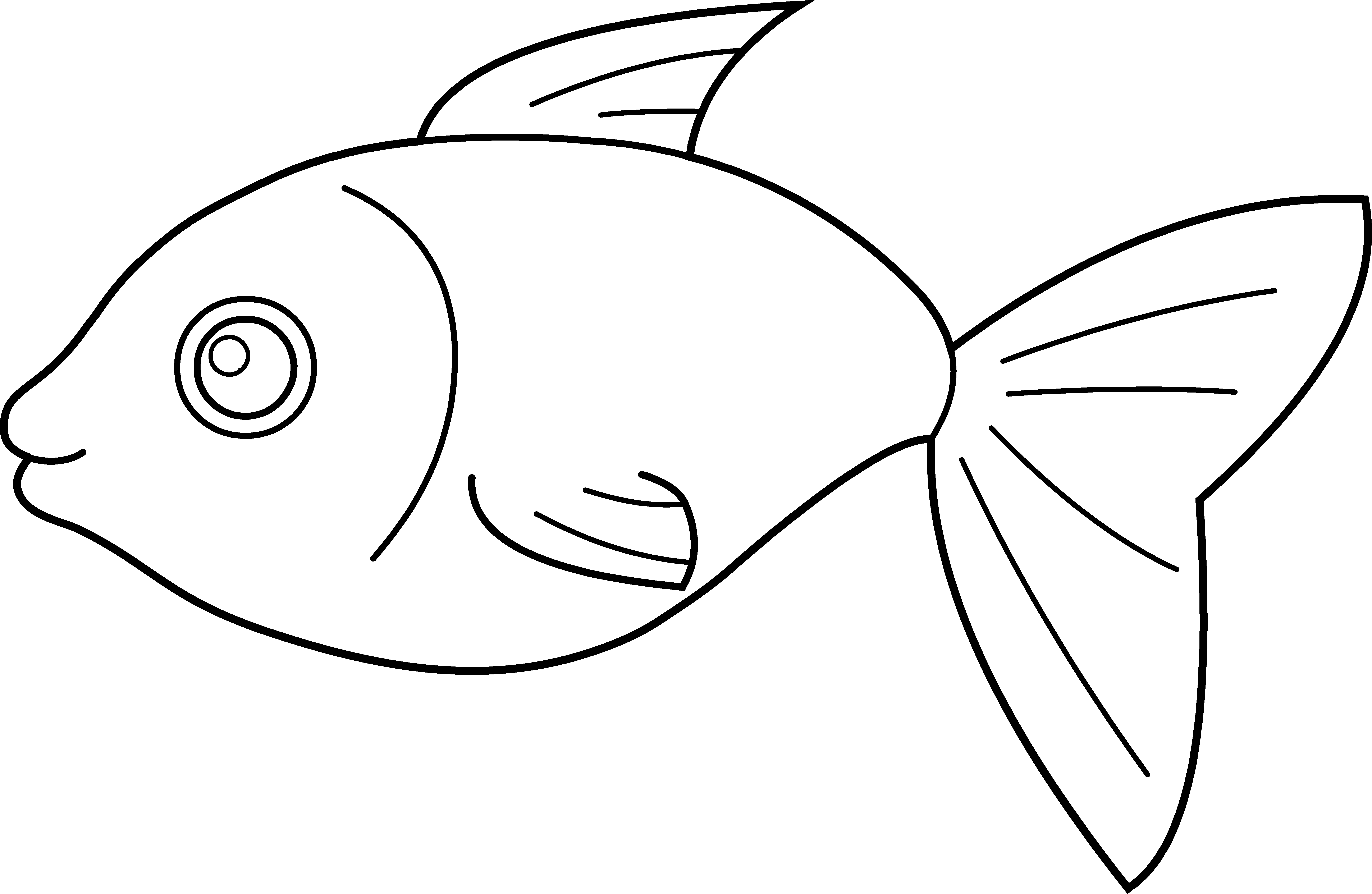 Happy Fish Coloring Page Free Clip Art Free Clip Art Coloring Pages Fish Coloring Page