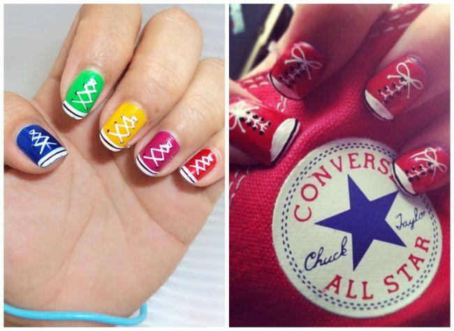 Pin de Mar en Diseños de uñas | Pinterest | Uñas fáciles, Diseños de ...