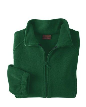 Harriton - Ladies' 8 oz. Full-Zip Fleece >> M,HUNTER Harriton. $22.40