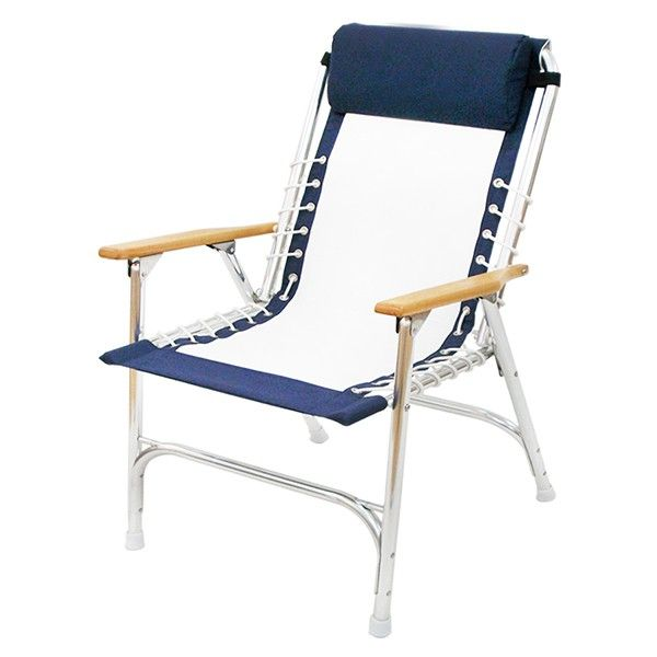 Whole Marine Padded Rope Deck Chair