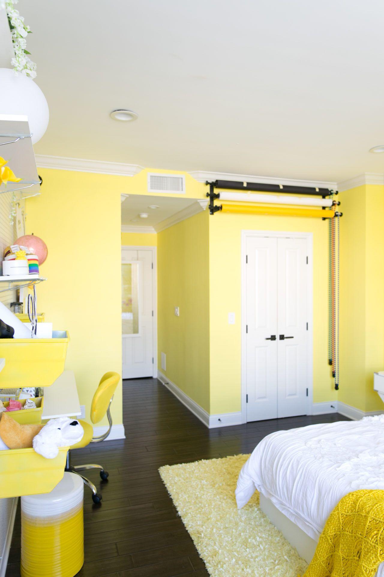 Adelaine Morin S Hello Yellow Bedroom Makeover New Room White