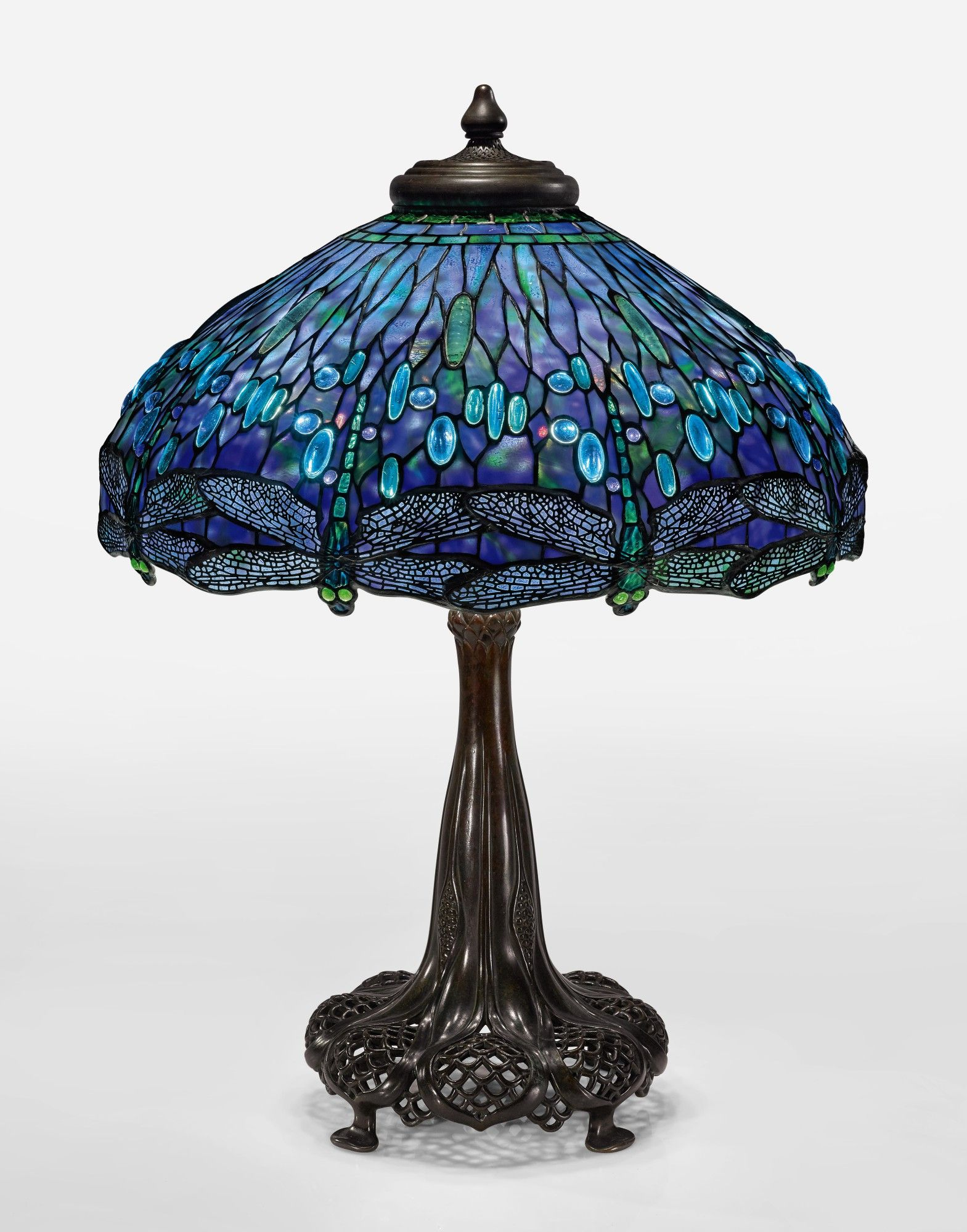Tiffany Studios An Important Dragonfly Table Lamp Dreaming In Glass Masterworks In 2020 Stained Glass Table Lamps Tiffany Style Table Lamps Tiffany Table Lamps