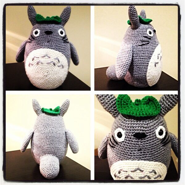 Totoro! #crochet #handmade #amigurumi #totoro