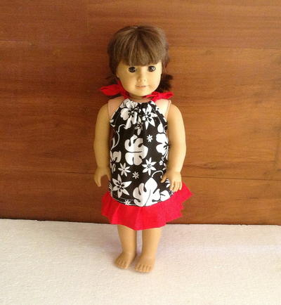 Pillowcase Dress Pattern for 18 Inch American Doll