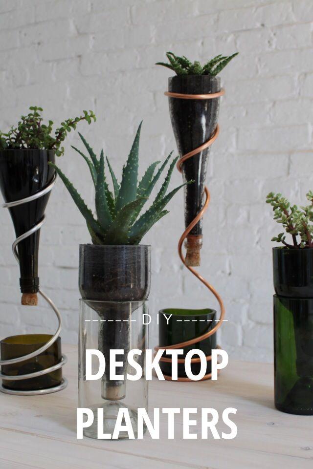 Desktop Planters D I Y By Ben Uyeda On