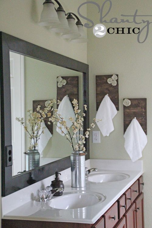 Diy Towel Hooks With Images Diy Towels Shabby Chic Diy Home Diy