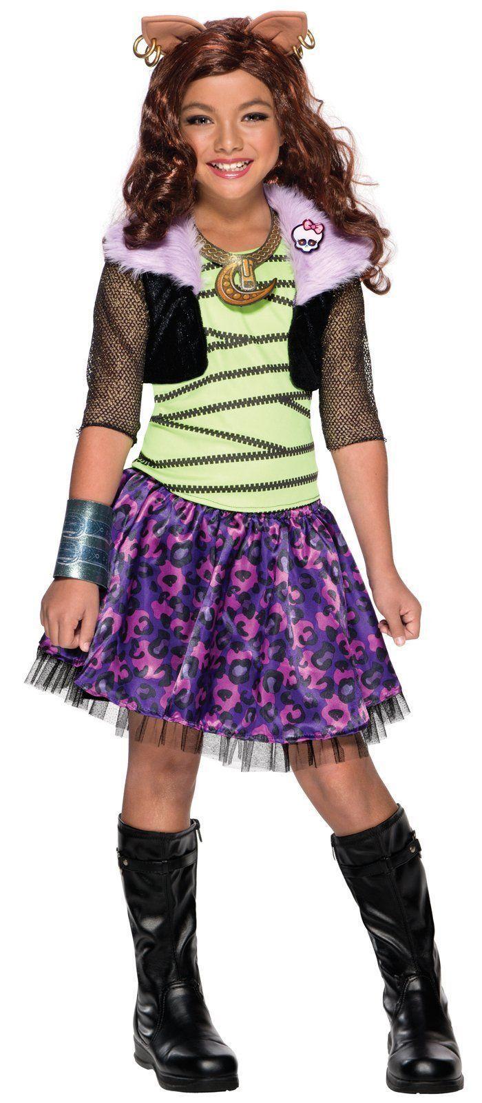 Monster High - Clawdeen Wolf Child Costume | Wolf children ...