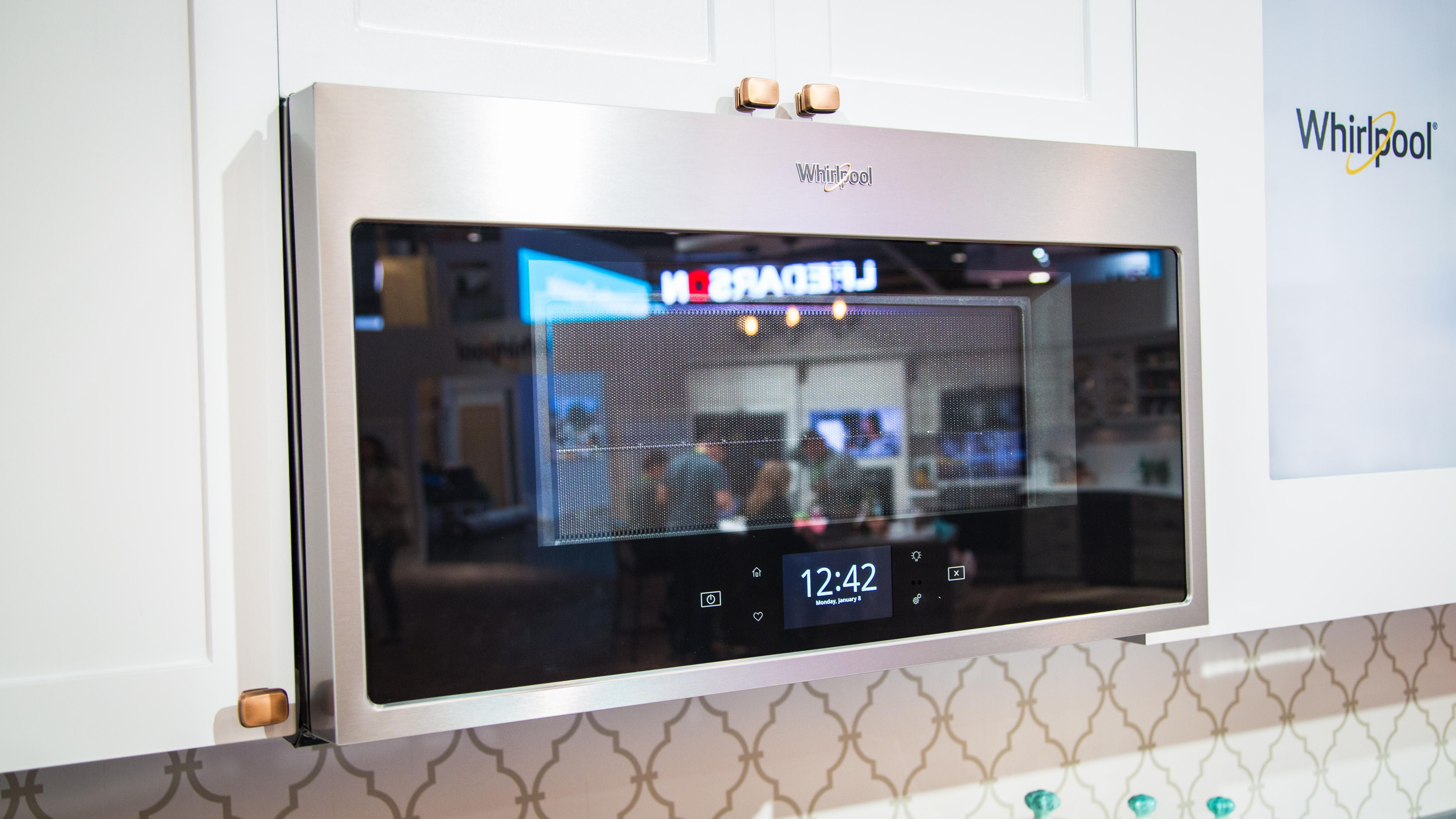 Yell at this Whirlpool microwave, and it will heat up your