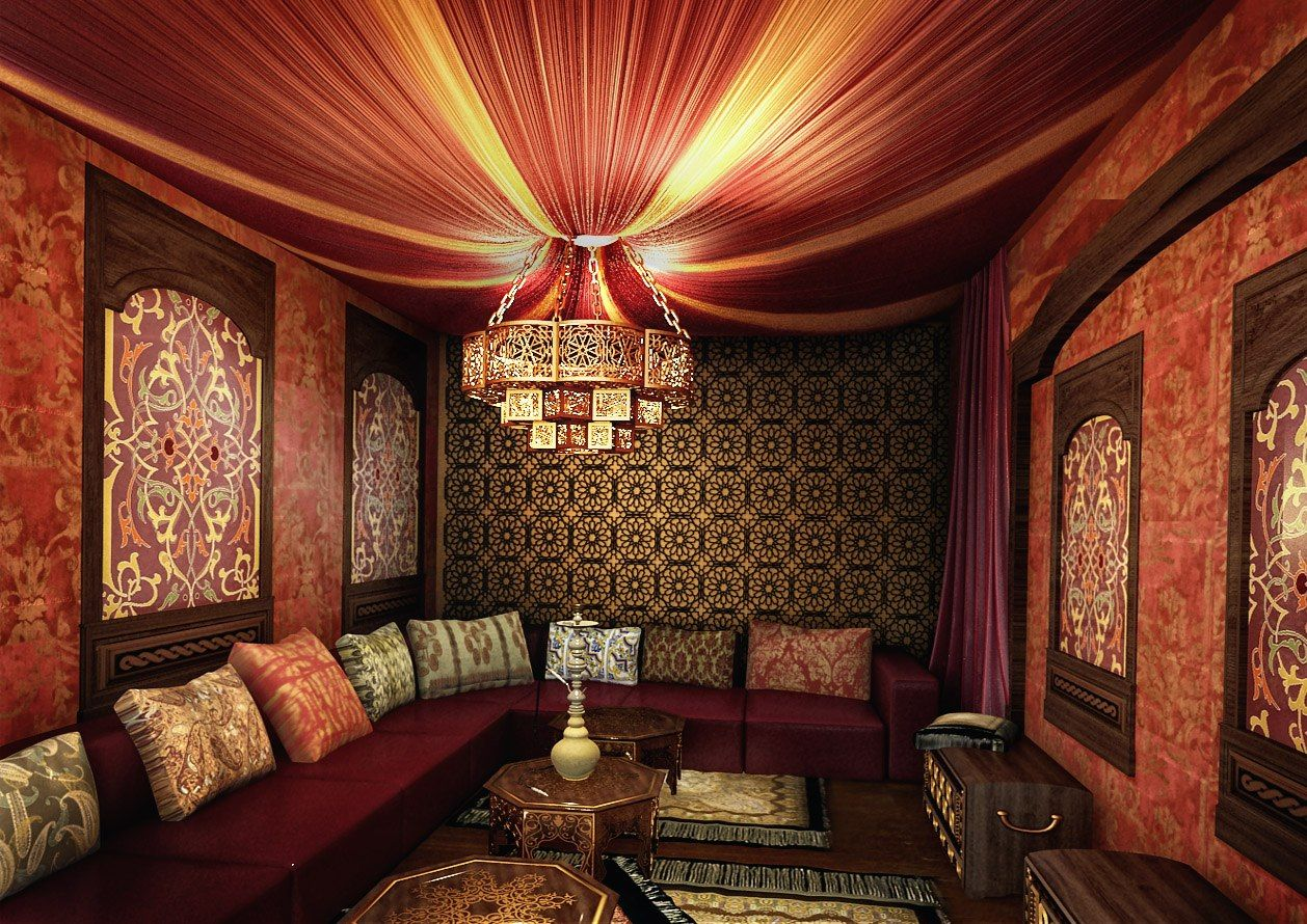 SW - Мебель на заказ | Восточный стиль в интерьере ...