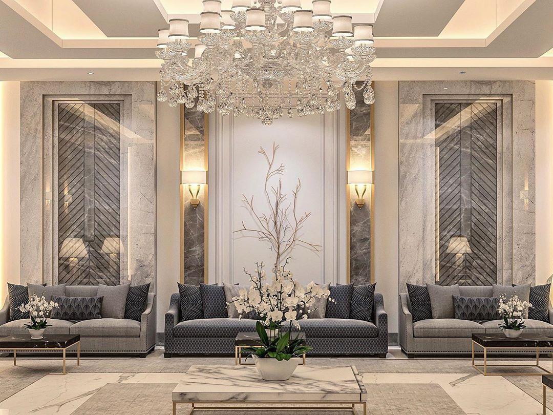 حسين العرادي On Instagram Mix Carpet And Marble Done By Cove Luxury Living Room Modern Classic Interior Modern Living Room Interior