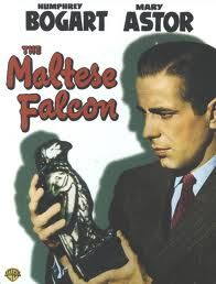"""The Maltese Falcon is a 1941 Warner Bros. film noir based on the novel of the same name by Dashiell Hammett. Directed by John Huston, the film stars Humphrey Bogart as private investigator Sam Spade and Mary Astor as his """"femme fatale"""" client. Gladys George, Peter Lorre, and Sydney Greenstreet co-star, with Greenstreet appearing in his film debut. The Maltese Falcon was Huston's directorial debut and was nominated for three Academy Awards."""