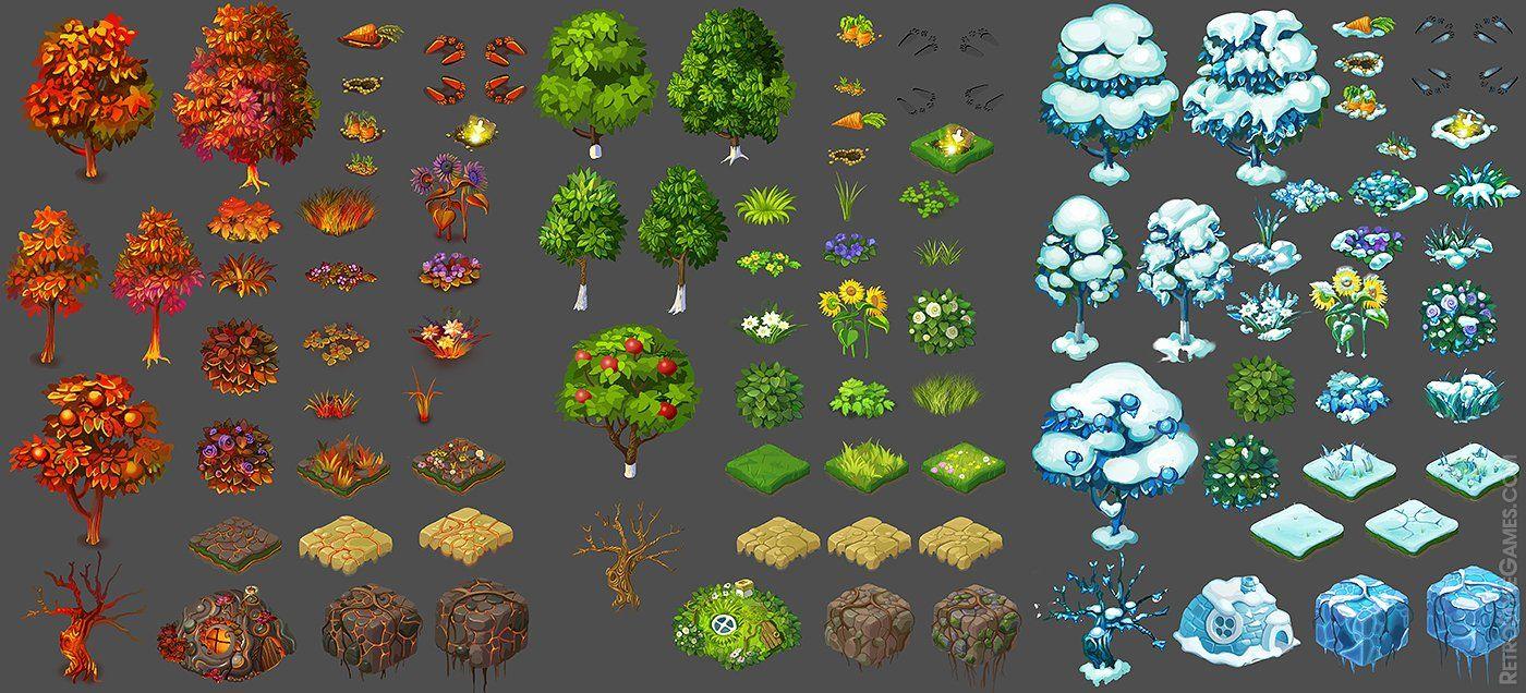 Art Outsourcing 2D 3D PreRendered Game Sprites