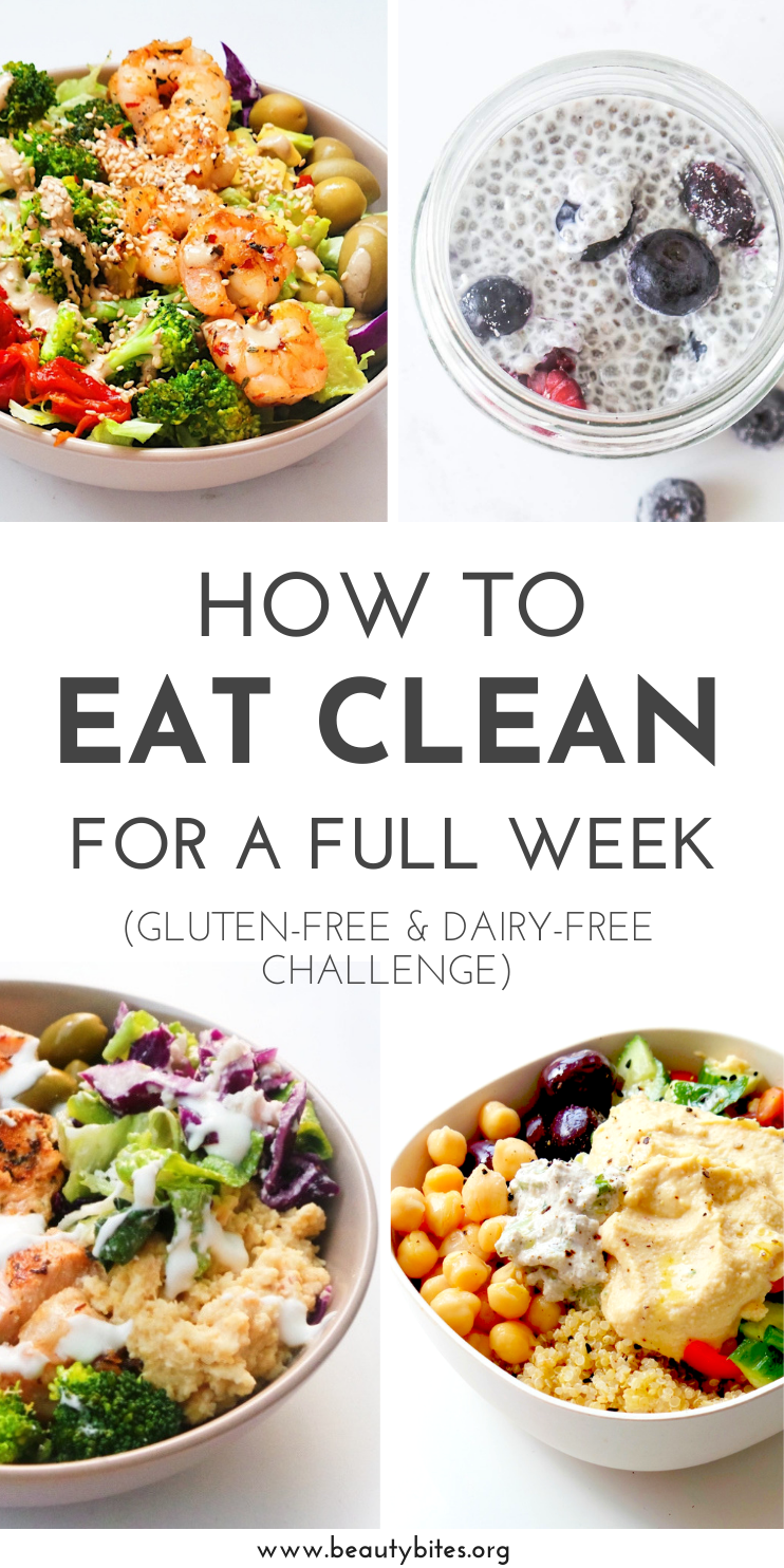 7 Days Of Gluten Free Dairy Free Recipes Challenge Beauty Bites Clean Eating Dinner Gluten Free Meal Plan Dairy Free Recipes Dinner