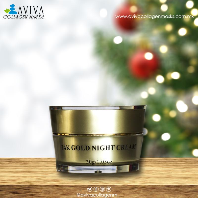 24 K Gold Night Cream Tu mejor opcion en este invierno para el cuidado de tu rostro🎄✨❄️â˜