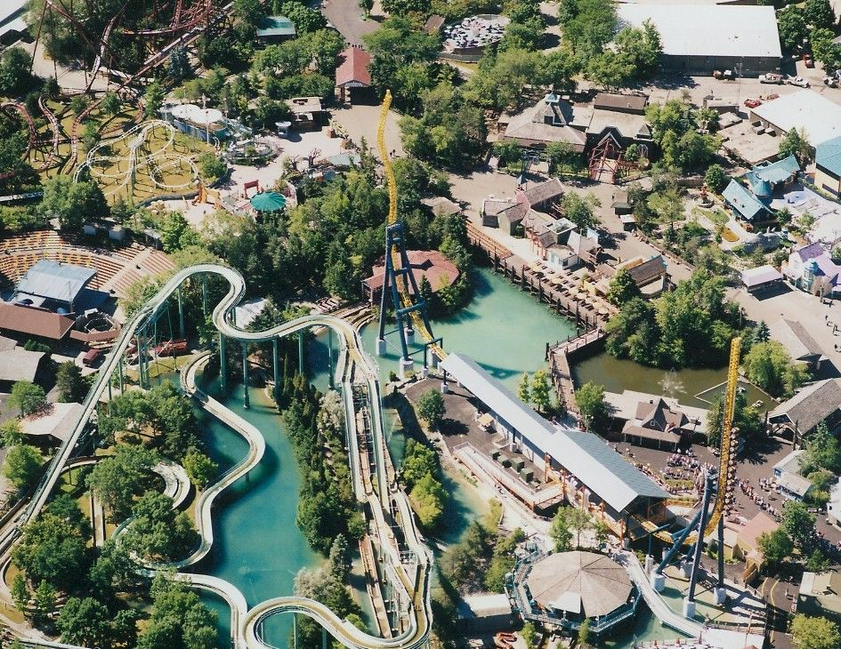 Six Flags Great America Chicago Water Theme Park Great America Day Trips