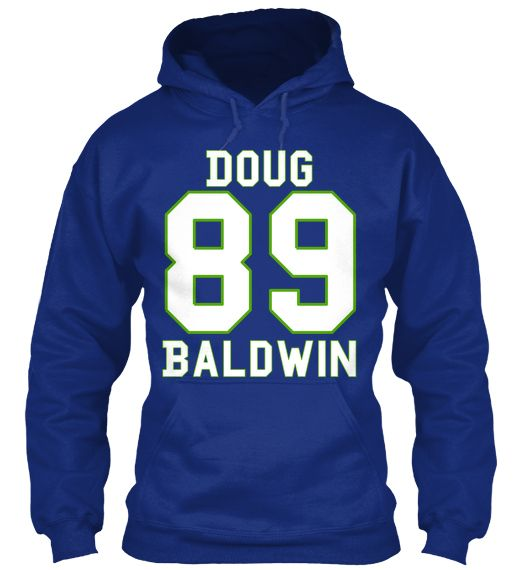 sale retailer 37162 9d87e Doug Baldwin 89 Deep Royal Hoodie | Tee and Hoodies