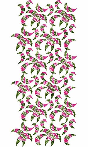 African Clothing Allover Embroidery Design Rachmat Chabin