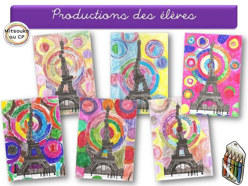 vertigineuse tour eiffel de robert delaunay voyage paris pinterest arts visuels. Black Bedroom Furniture Sets. Home Design Ideas