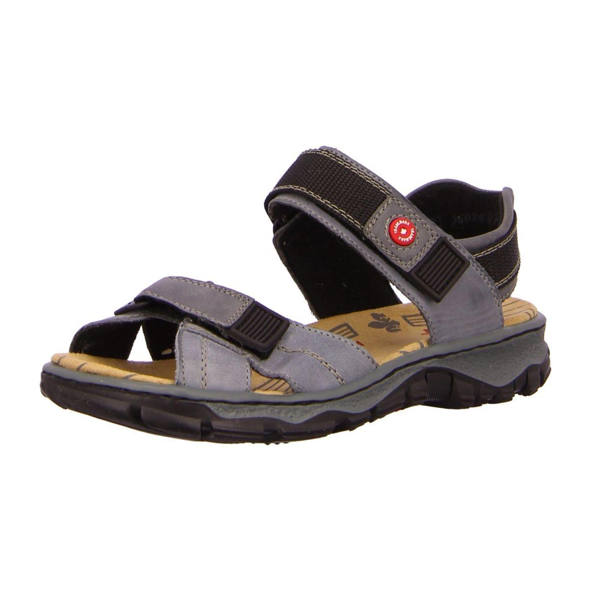 Rieker Herren Sandale in blau | SALE Schuhfachmann