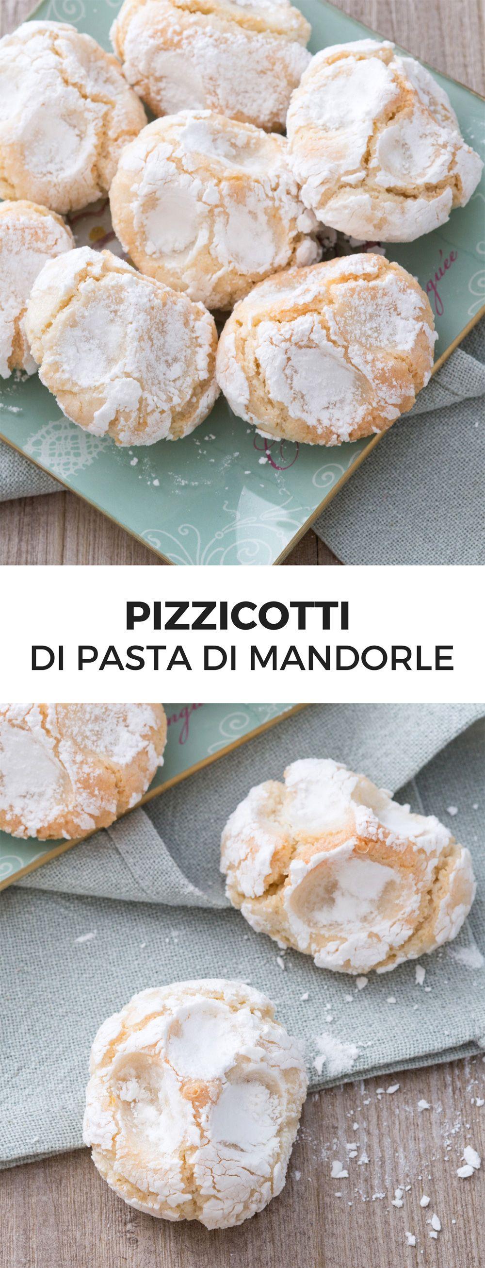 Pizzicotti di pasta di mandorle | Ricetta | Idee X cucinare | Pinterest