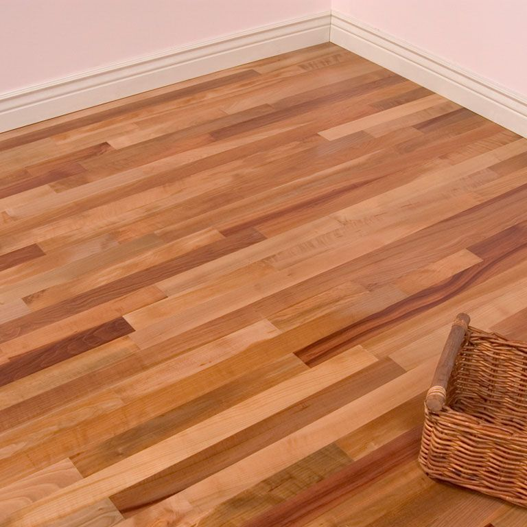 """Engineered Wood Flooring Recommended Thickness: Unstained Madrone Comes In 2 3/4"""" Width Making In A Wood"""