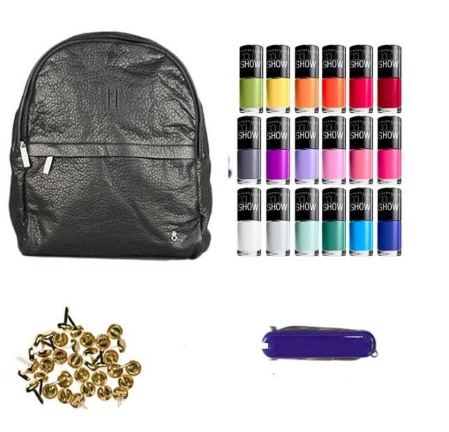 Como puedo decorar mi mochila