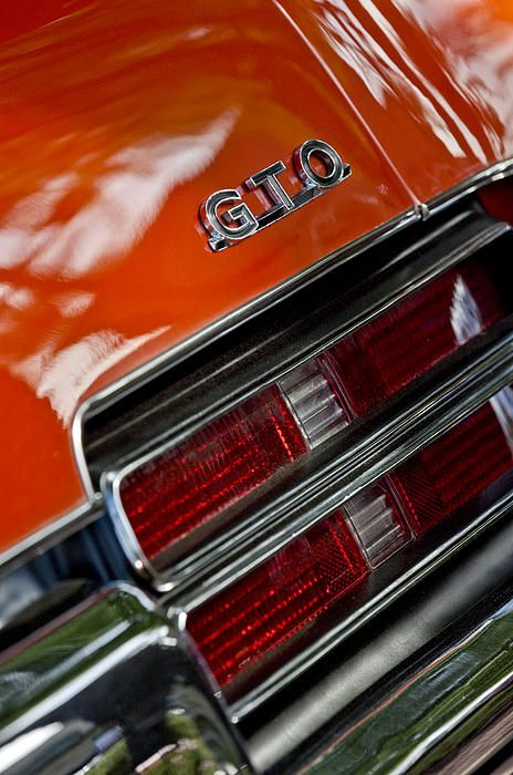 4b3b280f9 Car Tail Light Images by Jill Reger - Images of Tail Lights - 1969 Pontiac  Gto Judge Coupe Taillight Emblem