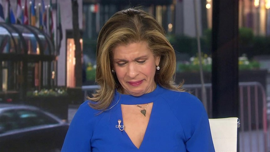 Hoda gets emotional after powerful interview about her