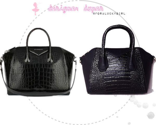 Designer Handbag Dupes Givenchy Antigona Bag For A Lucky