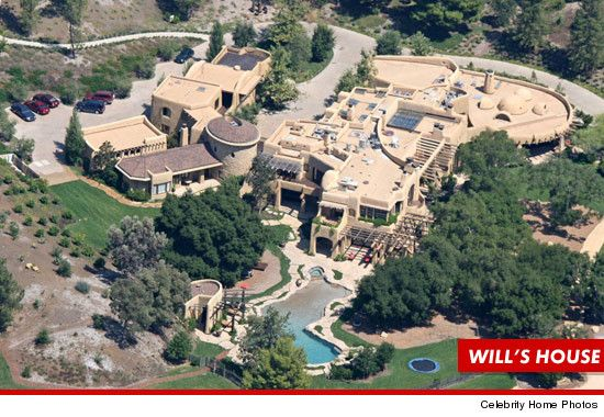 Cops Sweep Will Smith S House For Michelle Obama Lunch Celebrity Houses Will Smith House Celebrity Mansions