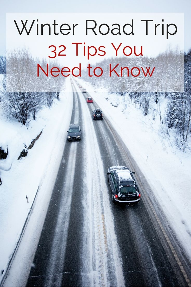 Winter Road Trip Alone 32 Tips You Need to Know Road