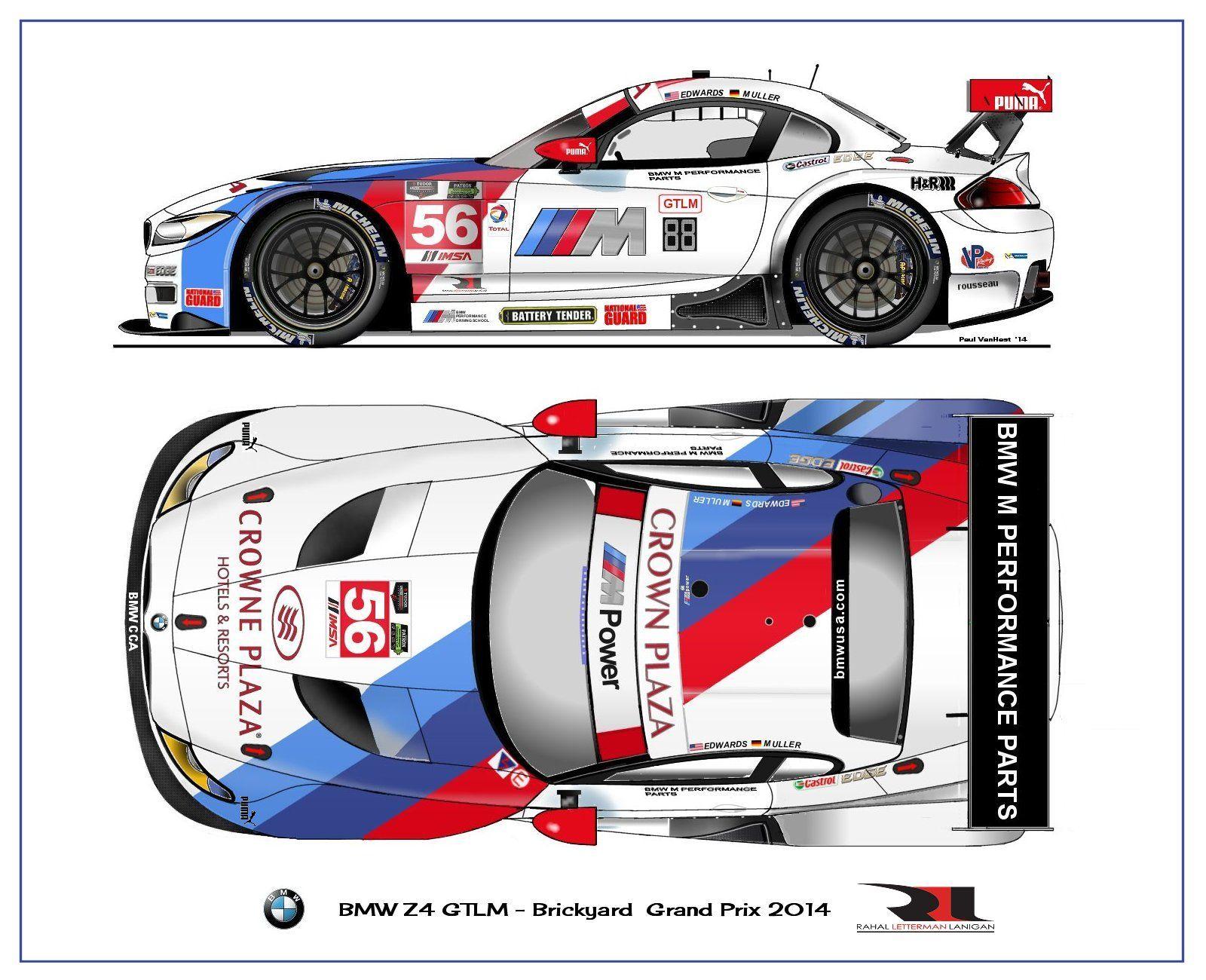 BMW Z4 GTLM 2014