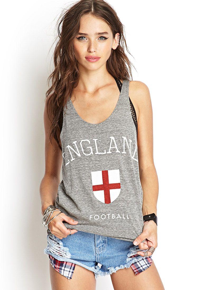 04238a9b38818 England Football Tank Top
