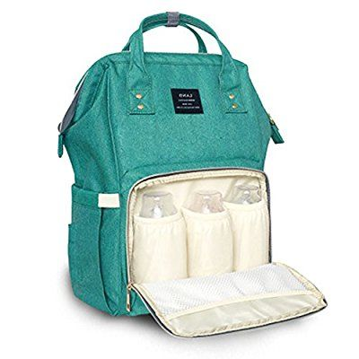 Amazon.com   Land Baby Diaper Bag Large Capacity Mommy Backpack Baby Nappy  Tote Bags Multi-function Travelling Backpack for Mom Travellers Nurses  Students ... f6222597d4540