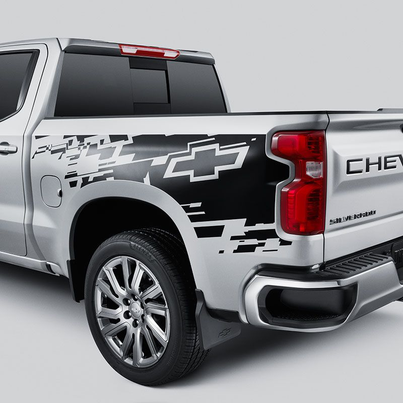 Decals and Emblems Work truck, Truck accessories