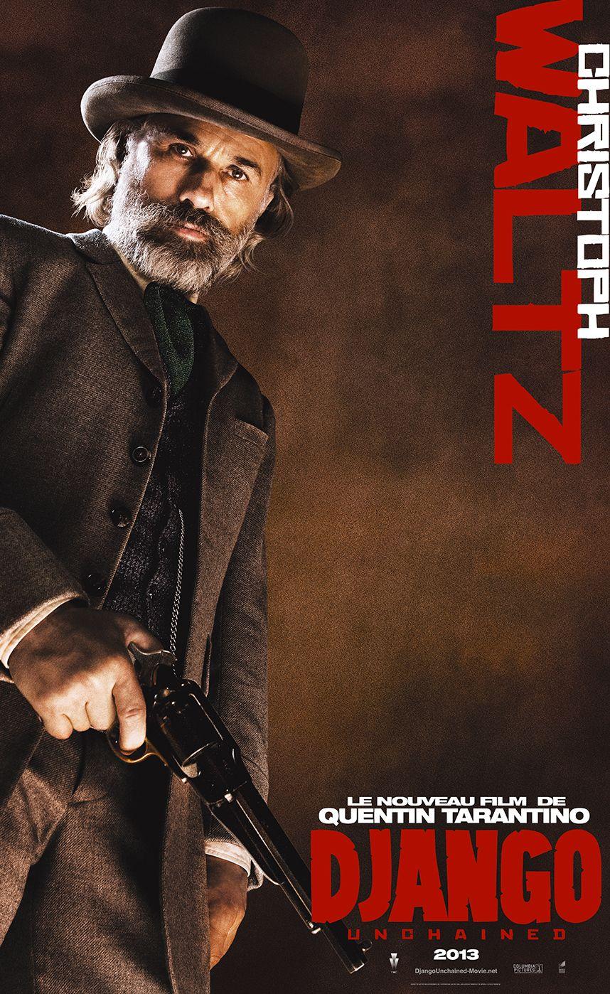 Christoph Waltz, dans le rôle de Dr. King Schultz.