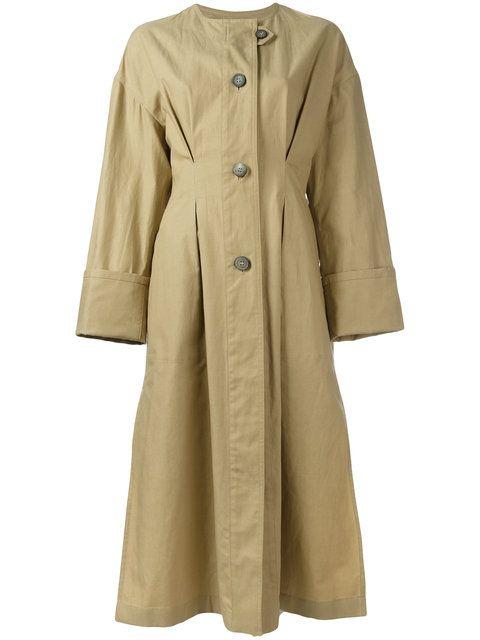 ISABEL MARANT Slater Coat. #isabelmarant #cloth #coat