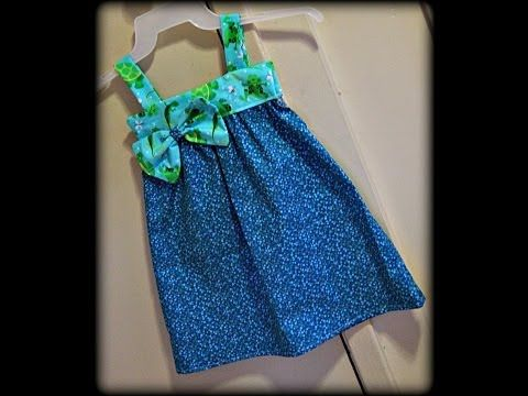 How To Make A Sundress Pattern For A Toddler - YouTube   Girl ...