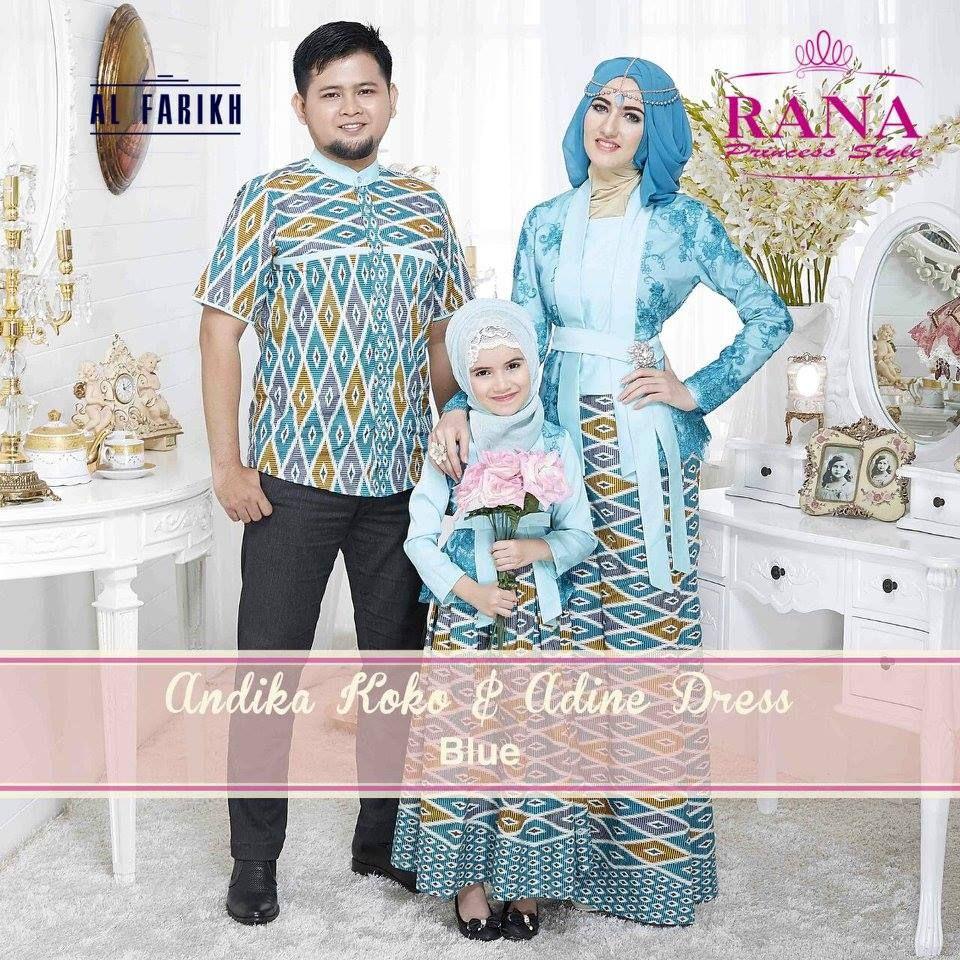 Adine Dress Model Gamis Kebaya Untuk Pesta Kombinasi Batik  Gaun