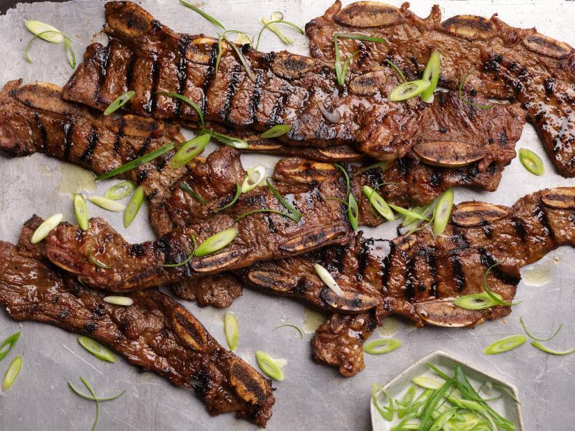 Kalbi Korean Barbequed Beef Short Ribs Recipe In 2020 Beef Short Rib Recipes Short Ribs Recipe Grilled Short Ribs