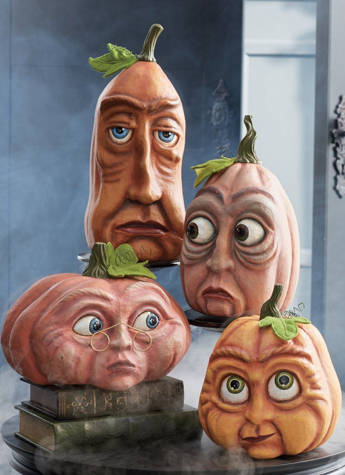All Eyes Are On Our Incredibly Expressive Halloween Pumpkins These Odd Fellows Were Conceived And Created Right H Halloween Fun Halloween Crafts Halloween Art