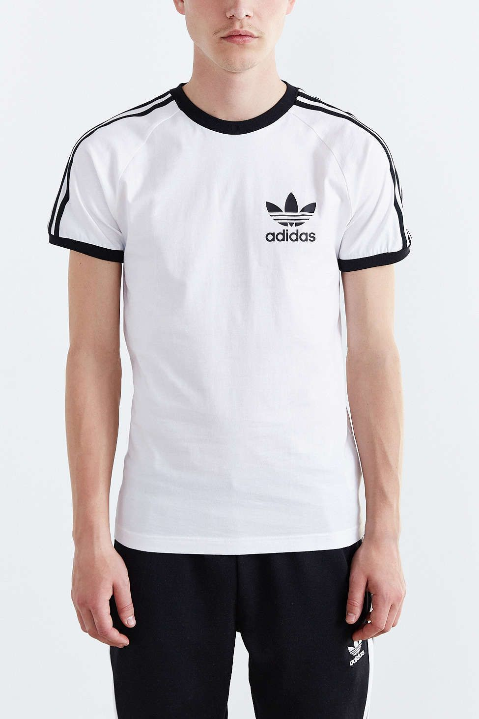 4e7b02c42ae3 adidas Originals Sport Essential Tee. Would get it in White and in Olive