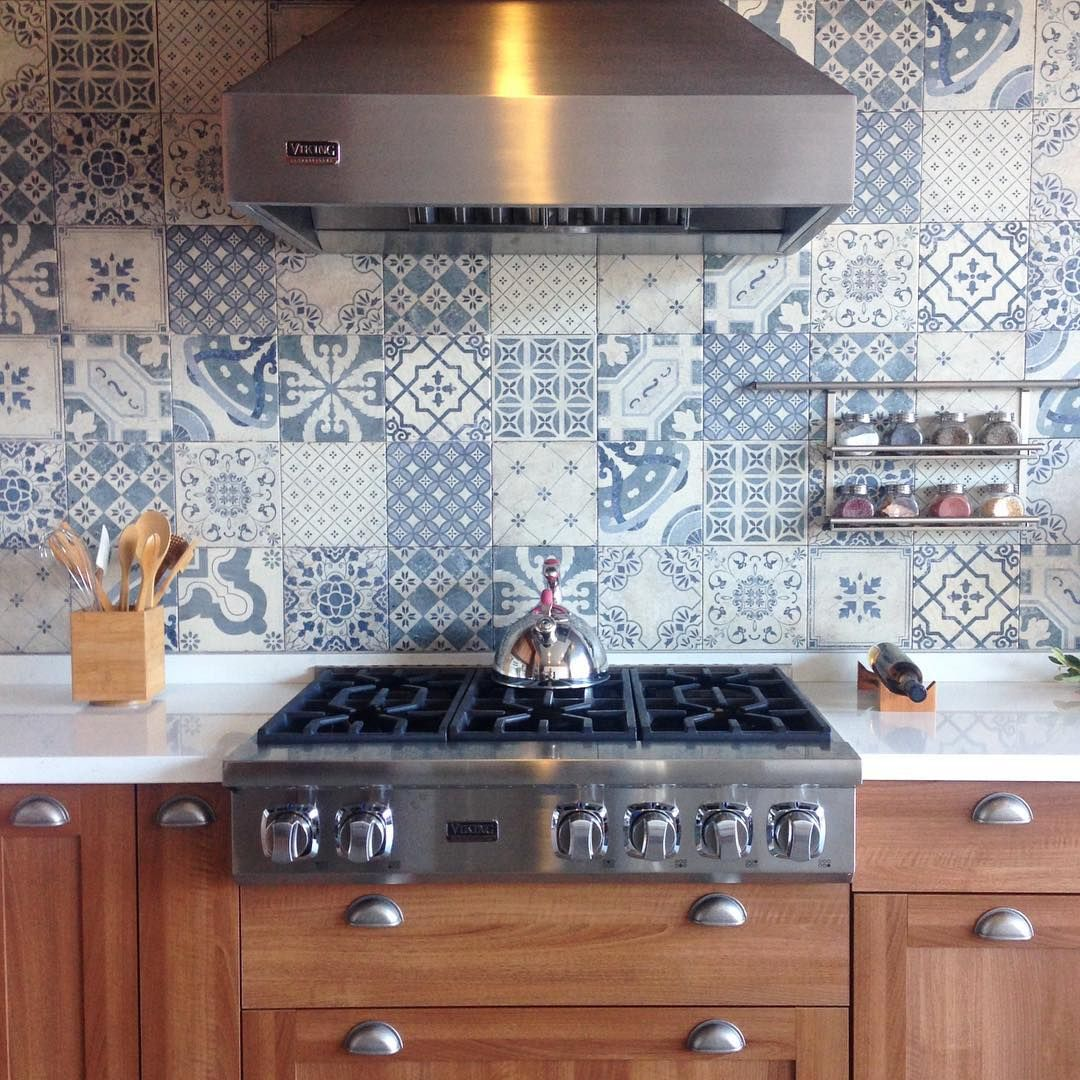 Kitchen crush ❥ Tile crush ¡Amor total con esta cocina y mosaicos ...