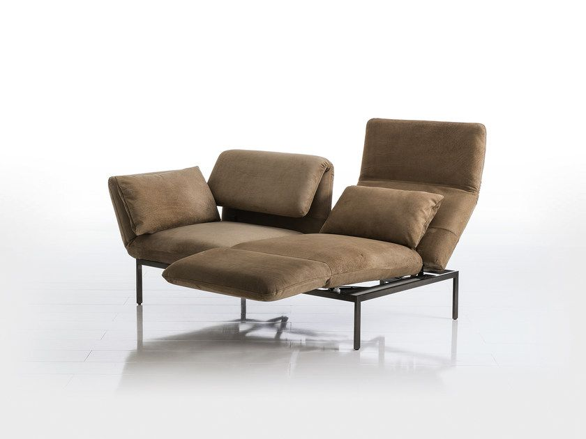 Recliner 2 Seater Leather Sofa Roro Leather Sofa By Bruhl Leather Sofa Furniture Sofa