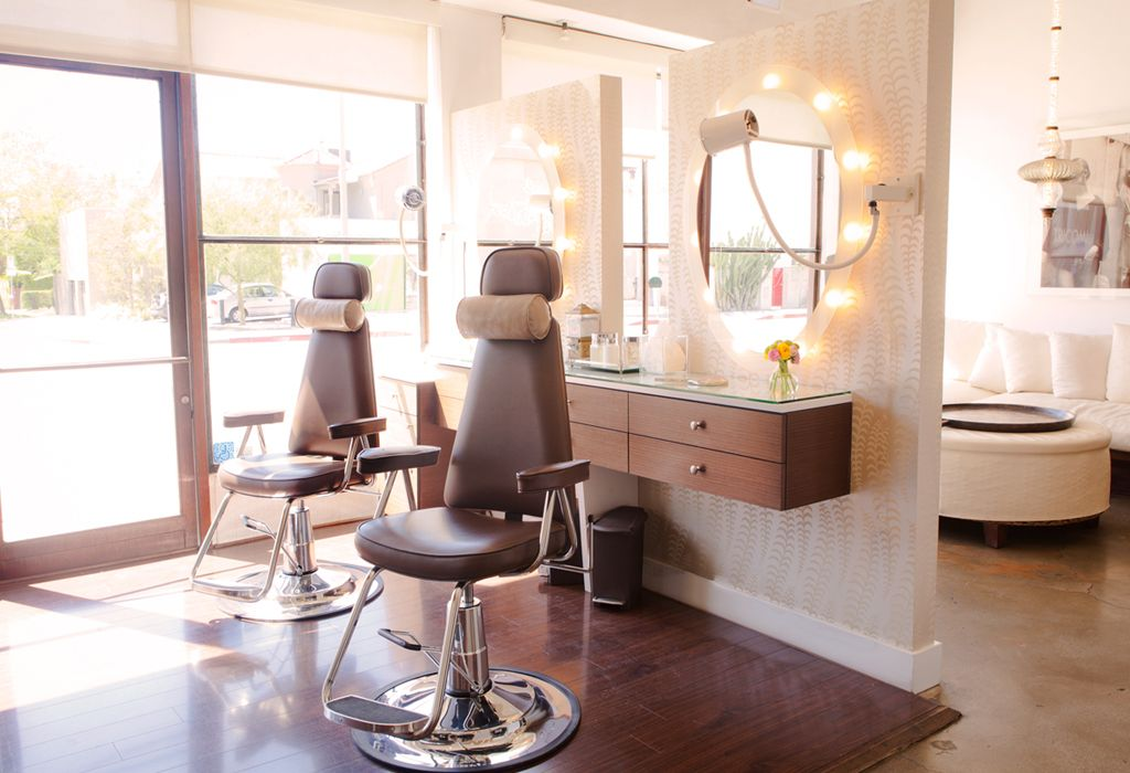 Garfieldu0027s Kevyn Studio Makeup Chair Featured At The Cristophe Salon   Los  Angeles, California. | Salon Designs U0026 Inspirations | Pinterest | Makeup  Chair, ...