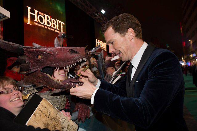 estreno de El Hobbit en Londres Benedict Cumberbatch