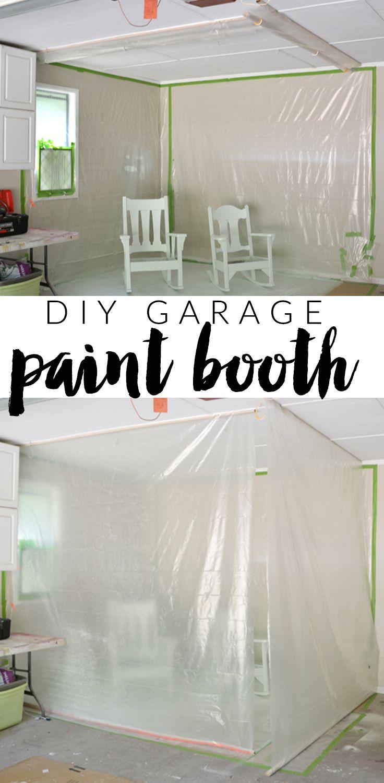 Diy Garage Paint Booth Hearts And Sharts Garage Paint Diy Garage Paint Booth
