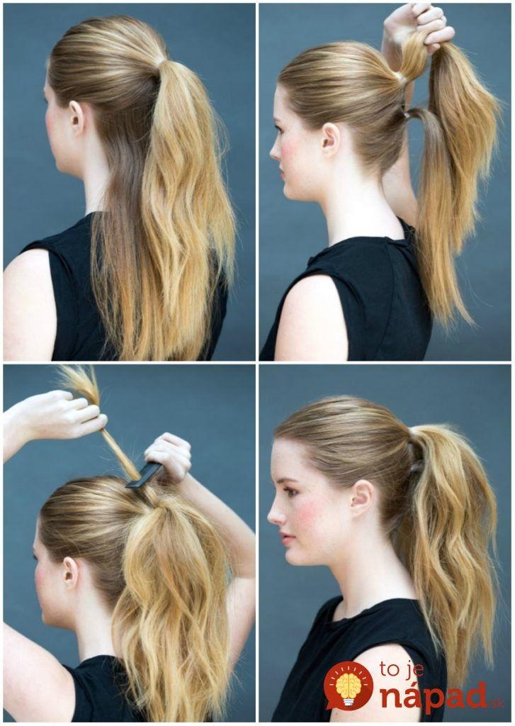 Nemáte ráno čas na zložitú úpravu vlasov? Tieto krásne účesy zvládnete za 10 sekúnd!