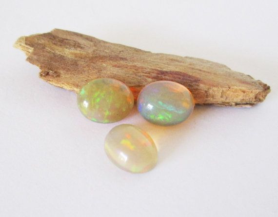 Natural Ethiopian Welo Opal Lot 10x8mm Oval by BellaGems61 on Etsy