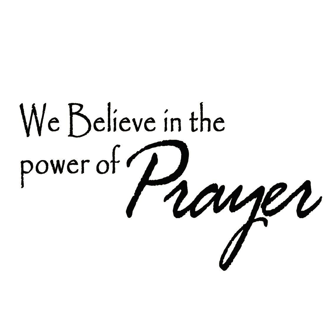 VWAQ We Believe in Miracles Home Decor Vinyl Wall Decal
